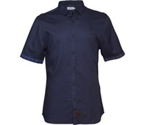 Firetrap Herren Hemd Blau