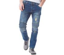 Herren Patrick Skinny Jeans Blau