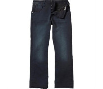 883 Police Mens Victor MO 280 Bootcut Jeans Blue