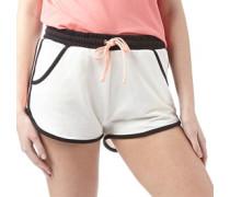 Womens Linford Running Short Cream/Black/Coral