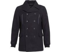 Firetrap Herren Firmin Melton Jacket Blau