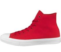 Damen CT All Star II Hi Sneakers Rot
