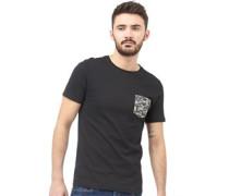 Herren Pulp T-Shirt Schwarz