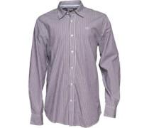 Crew Clothing Herren Classic Grape Hemd mit langem Arm Grün