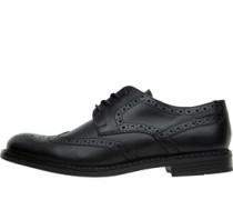 Herren Main Brogue Schuhe Waxy Black