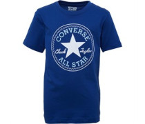 Jungen Chuck Patch T-Shirt Dunkelblau