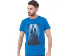 Herren Mackesun T-Shirt Blau
