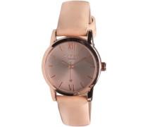 Lipsy Damen Armbanduhr Rosa-Gold