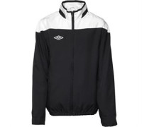 Umbro Junior Tracksuit Top Black/White