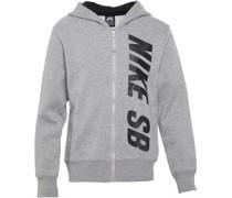 Nike SB Jungen Logo Full Kapuzentop Dark Grey Heather