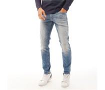 Glenn Original Jos 207 Jeans in Slim Passform Verblasstes Hell
