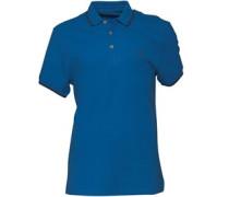 883 Police Herren Akil Electric Polohemd Blau