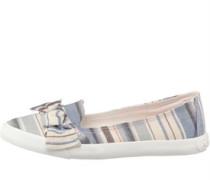 Damen Clarita Pierce Freizeit Schuhe Blau