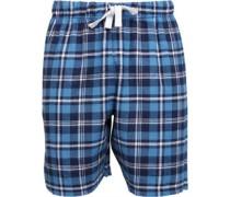 Kangaroo Poo Herren PJ Pyjama Shorts Kariert