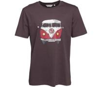 Camper Van T-Shirt Grau
