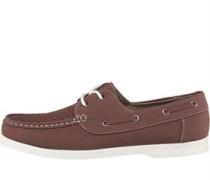 Herren Boat Schuhe Hellbraun