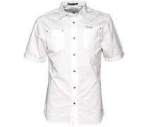 Herren Gavin Whisper Hemd mit langem Arm Weiß