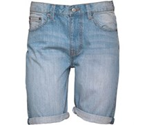 Denim Shorts Hellblau