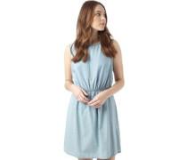 Damen Lavender Kleid Denimmeliert Blau