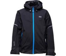 Helly Hansen Junior Shelter Jacket Black/Blue