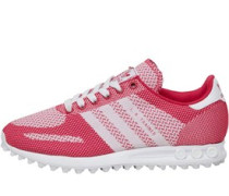 Damen LA Trainer Weave Sneakers Rosa