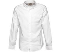 Herren Pleasant River Oxford Hemd Mit Langem Arm Weiß
