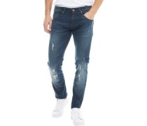 Moriarty Laker 283 Jeans in Slim Passform Dunkel