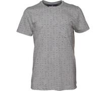 Duck and Cover Herren Deluca T-Shirt Grau