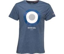 Lambretta Mens Target T-Shirt Denim Marl