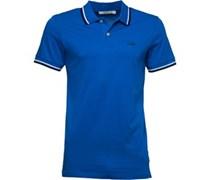 Herren New Contrast Polohemd Königsblau