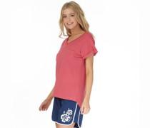 Board Angels Damen T-Shirt Rosa