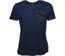 883 Police Herren Monty T-Shirt Blau