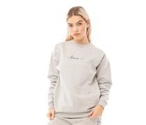 Oliva Sweatshirt meliert