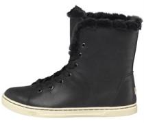 Damen Croft Luxe Quilt Sneakers Schwarz