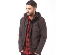 Brave Soul Mens Ethan Jacket Charcoal