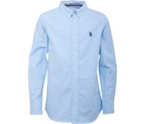 Jungen Maura Hemd mit langem Arm Blau