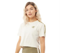 Karina CRS Crop Taped T-Shirt