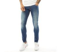 Maylead Jeans in Slim Passform Verblasstes Dunkel