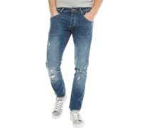 Moriarty Laker 403 Jeans in Slim Passform Verblasstes
