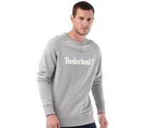 Herren Westfield River Sweatshirt Medium Grey Heather