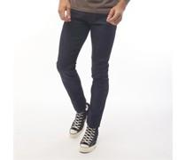 Caden Jeans in Slim Passform  Schwarz