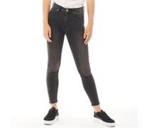 Sophia Skinny Jeans Verwaschenes Schwarz
