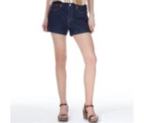 Levi's Damen The High Rise Forest Shadow Denim Shorts Blau