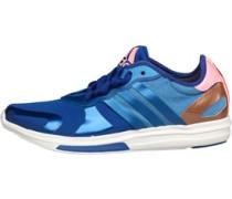 adidas Womens Stella Sport Yvori Studio Training Shoe Bold Blue/Light Flash Red