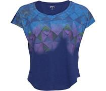 Damen Tile Tail Dolman T-Shirt Blau