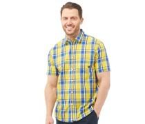 Hemd mit kurzem Arm Gelb