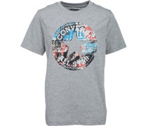 Converse Junior Chuck Fill T-Shirt Vintage Grey Heather