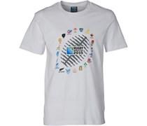 Canterbury Herren 2 Nations Ball Graphic T-Shirt Weiß