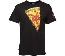 Herren Slice Graphic T-Shirt Schwarz