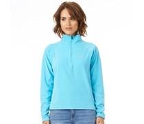 Trespass Damen Shiner Fleece Pullover Blau